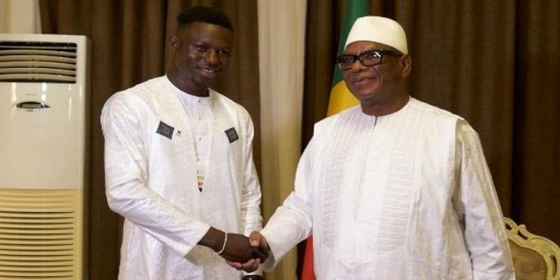 Photo de Mali: Mamadou Gassama rencontre le président de la République