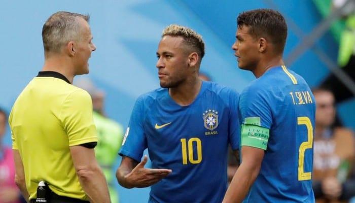 Photo de Mondial 2018: Neymar très remonté insulte Thiago Silva