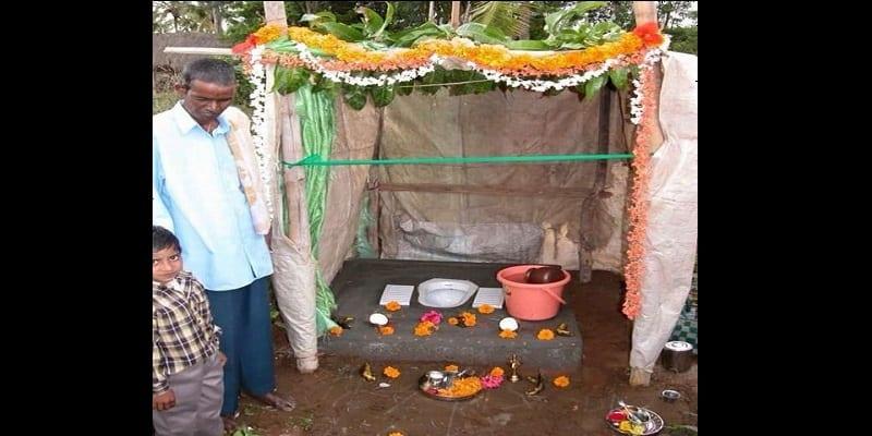 Photo de Inde: Les villageois adorent les toilettes au lieu de les utiliser