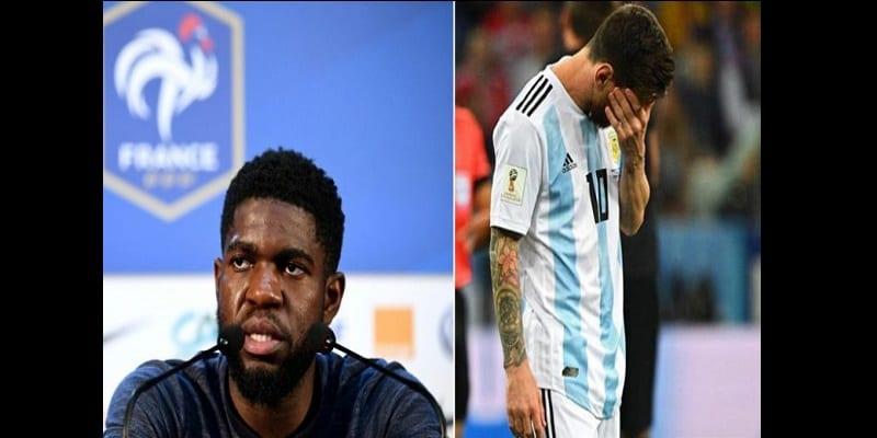 Photo de Mondial 2018: Ce que pense Samuel Umtiti de la performance de Messi en sélection nationale