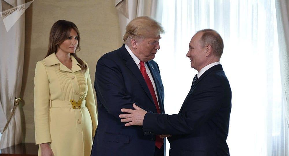Photo de L'incroyable réaction de Melania Trump après avoir serré la main de Vladimir Poutine