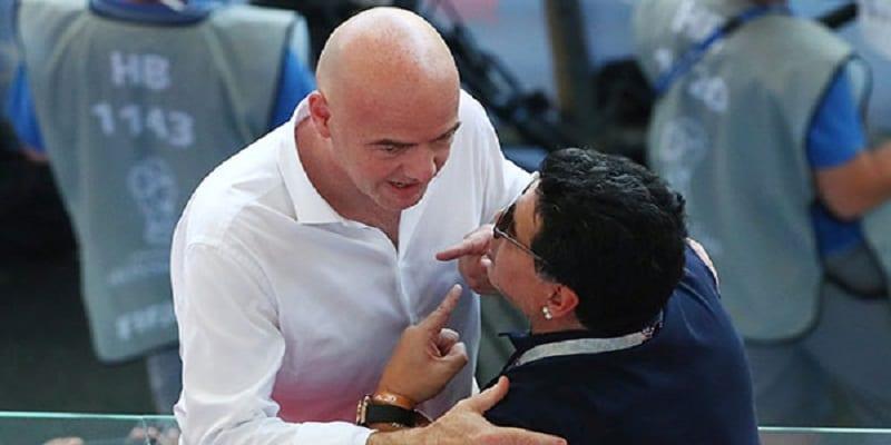 Photo de Coupe du Monde: la FIFA recadre encore Diego Maradona…Il réagit!