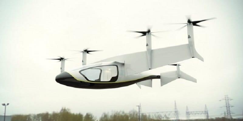 Photo de Angleterre: Rolls-Royce dévoile son concept de taxi volant