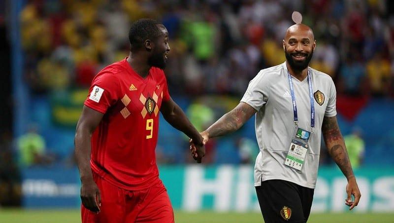 Photo de Mondial: Polémique autour de la présence de Thierry Henry sur le banc belge