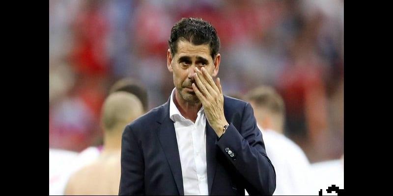 Photo de Espagne: Fernando Hierro démissionne de son poste d'entraîneur