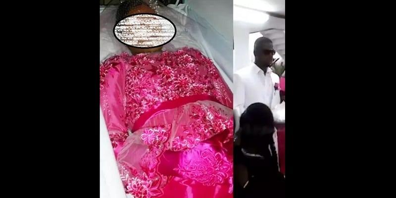 Photo de Insolite: un homme marie sa fiancée décédée à ses funérailles