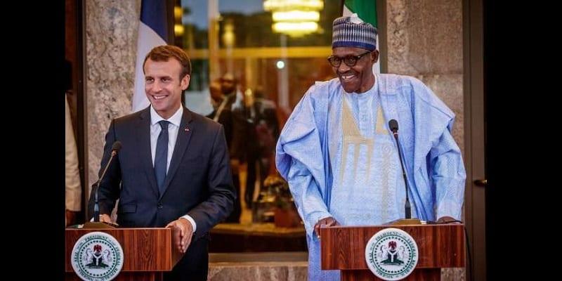 Photo de Nigeria: Emmanuel Macron en visite au pays, véhicule un message fort aux jeunes