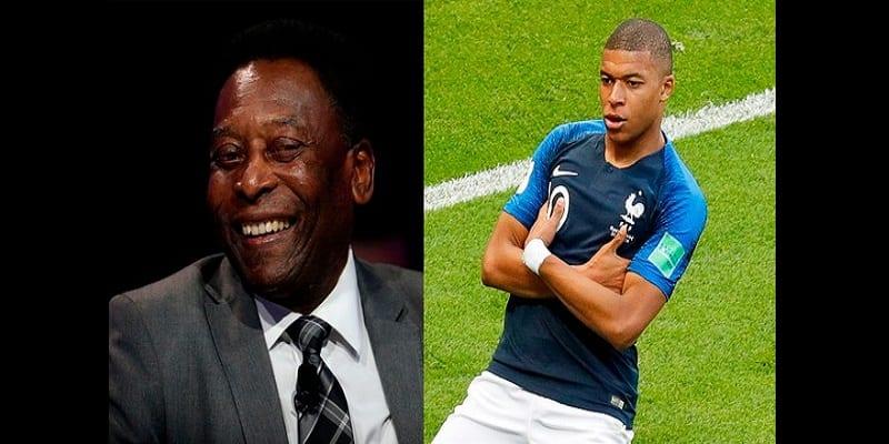 Photo de Mondial 2018: Pelé félicite Kylian Mbappé pour son nouveau record