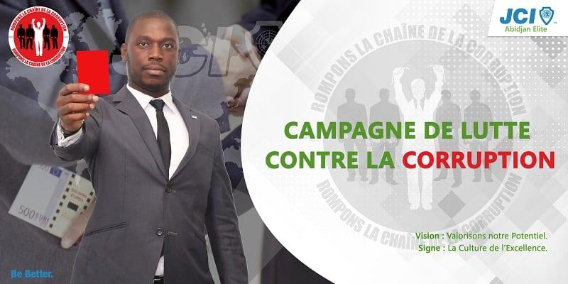 Photo de Côte d'Ivoire: La JCI Abidjan Elite s'engage contre la corruption!