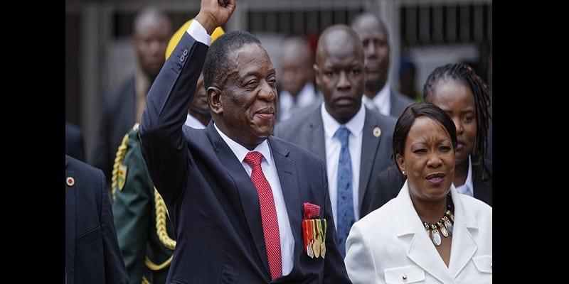 Photo de Zimbabwe: Emmerson Mnangagwa élu Président, l'opposition conteste les résultats