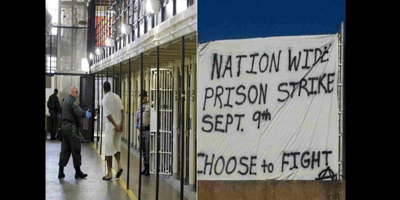 Photo de États-Unis: Les prisonniers en grève pour protester contre les conditions de vie