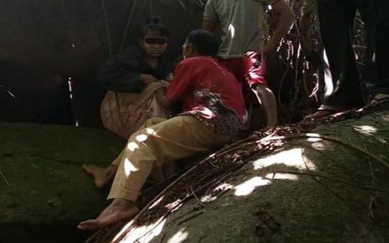 Photo de Indonésie: Enfermée dans une grotte, une esclave sexuelle retrouvée 15 ans après