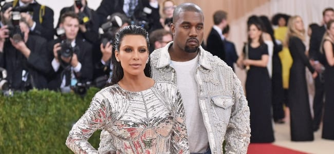 Photo de People : Le look de Kayne West qui enflamme la toile