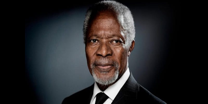 Photo de Urgent: L'ancien secrétaire général de l'ONU, Kofi Annan est décédé