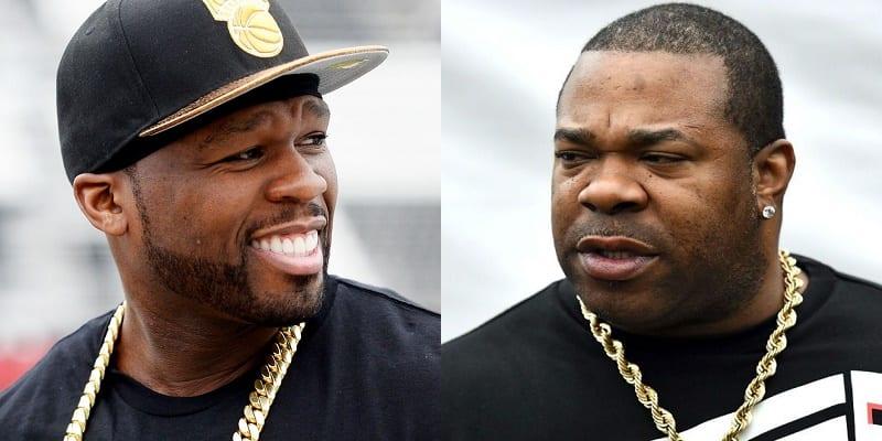 Photo de People : Clash entre 50 cent et Busta Rhymes sur les réseaux sociaux