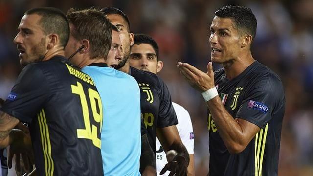 Photo de LDC: L'Uefa dévoile le nombre de matches de suspension de Cristiano Ronaldo