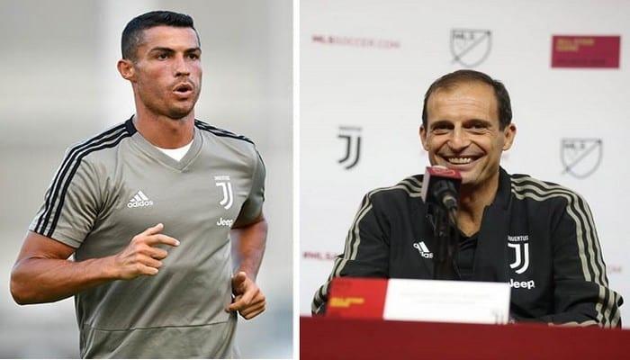 Photo de Juventus: L'entraineur explique pourquoi Ronaldo n'arrive pas à inscrire de but