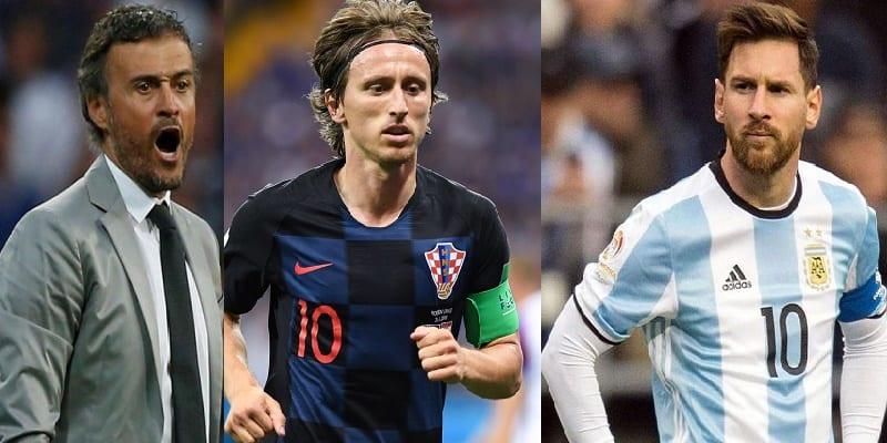 Photo de Football: Entre Messi et Modric, Luis Enrique désigne le meilleur de la saison