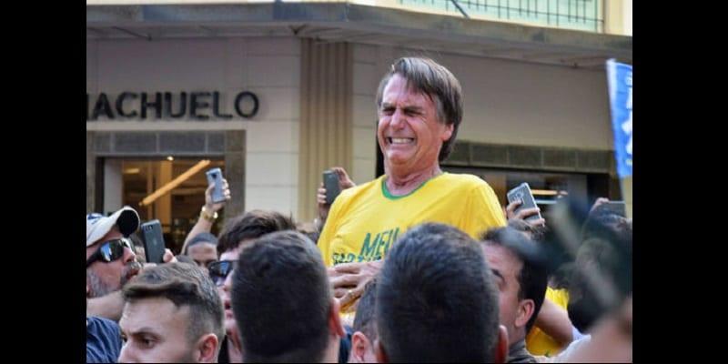 Photo de Brésil: Un candidat à la présidentielle poignardé en plein meeting (vidéo)