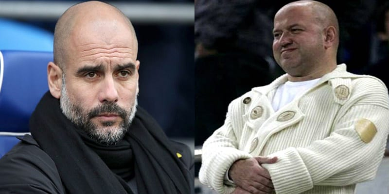 Photo de LDC: Quand l'agent de Yaya Touré se moque de Pep Guardiola (photo)