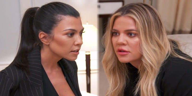 Photo de People: Une décision de Khloé qui brise le cœur de Kourtney Kardashian