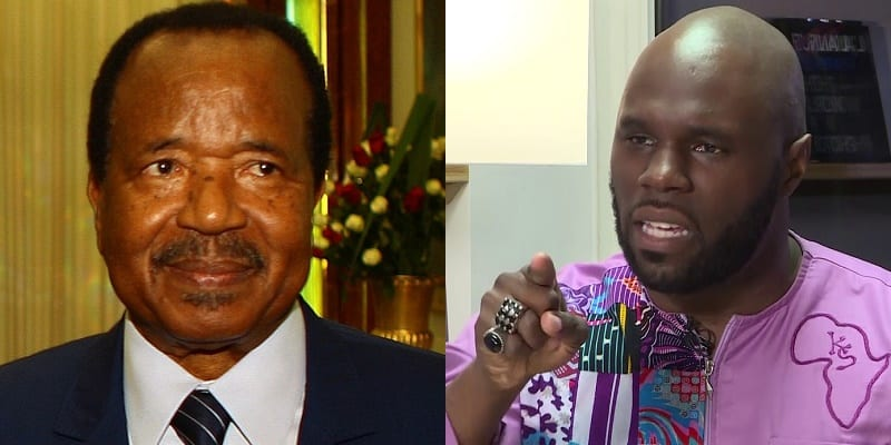 Photo de Cameroun: Kémi Seba s'attaque violemment au président Biya (Vidéo)
