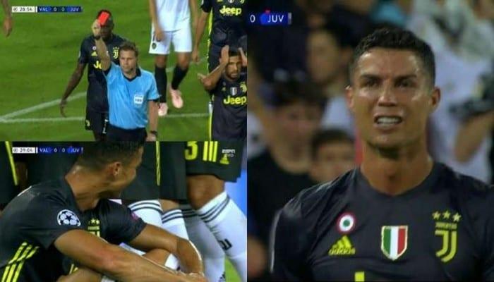 Photo de LDC: Après son expulsion, la sœur de Cristiano Ronaldo en colère réagit!