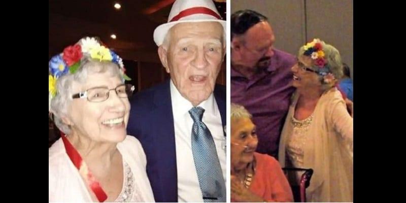 Photo de États-Unis: Une femme de 93 ans épouse son amoureux de 86 ans (photos)
