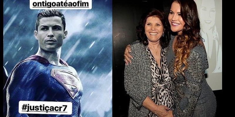 """Photo de Cristiano Ronaldo: sa famille lance la campagne """"Justice pour CR7"""""""