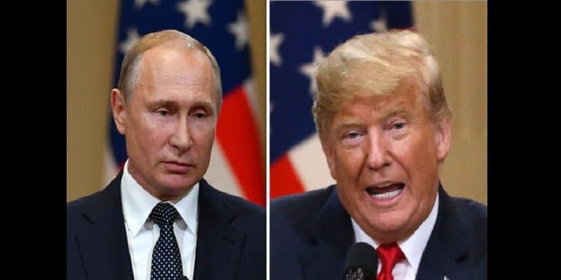 Photo de Donald Trump justifie le retrait des États-Unis d'un traité nucléaire avec la Russie