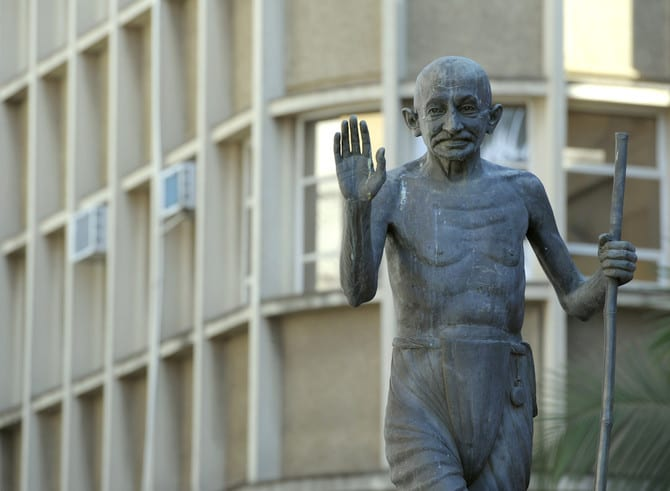 Photo de Malawi: La population en colère après l'érection d'une statue de Mahatma Gandhi dans la capitale économique