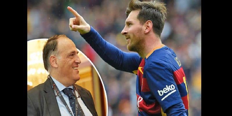 Photo de Le président de la Liga propose la création d'un «prix Lionel Messi»