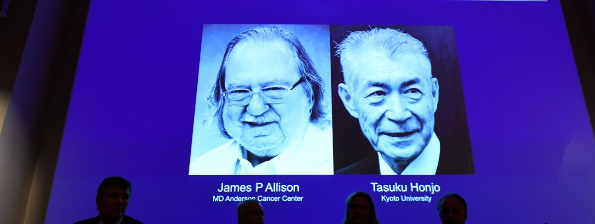 Photo de Un Américain et un Japonais remportent le prix Nobel de médecine 2018