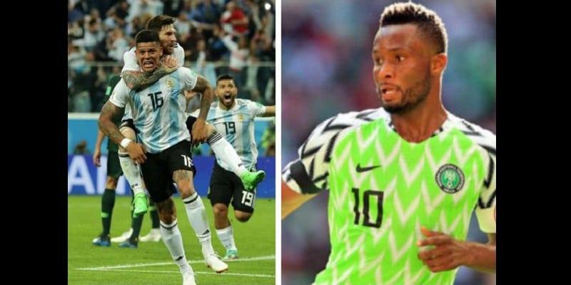 Photo de Mondial 2018: John Obi Mikel désigne le responsable de leur défaite face à l'Argentine