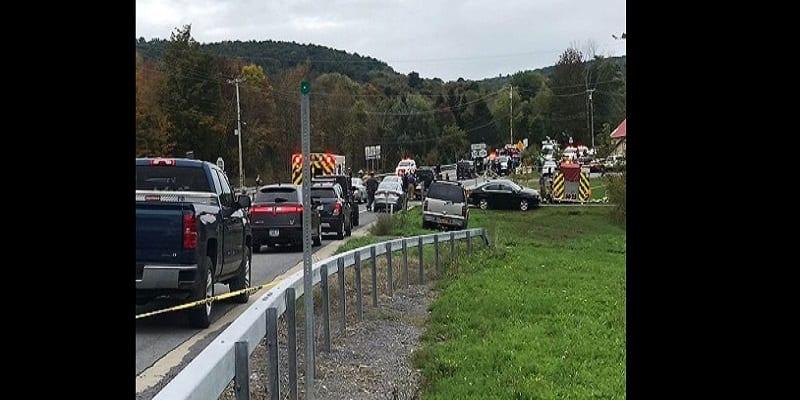 Photo de USA: 20 morts dans un a accident de limousine à New York
