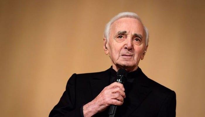 Photo de Le chanteur Charles Aznavour est décédé à l'âge de 94 ans