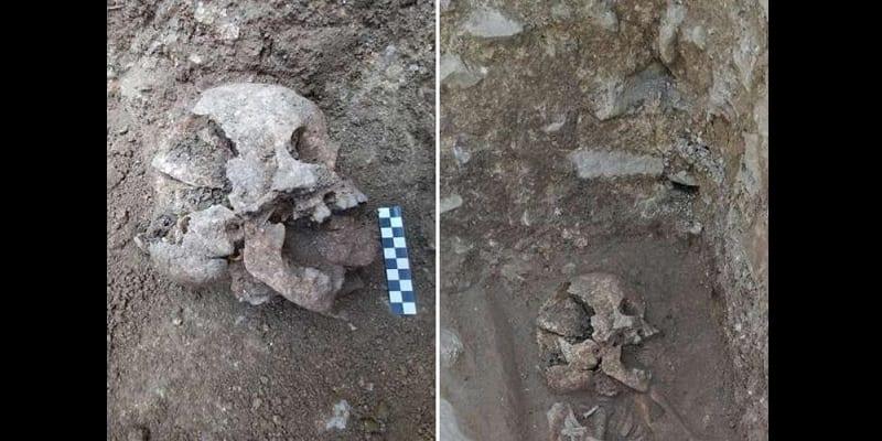 Photo de Italie: Un «Enfant vampire» découvert enterré avec une pierre dans la bouche