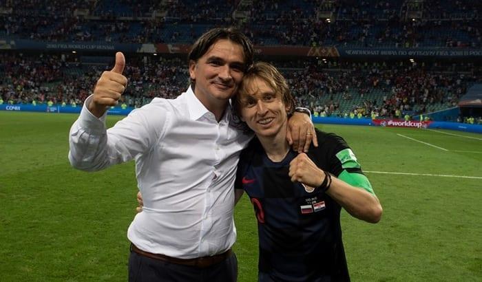 Photo de Zlatko Dalic: «Luka Modric est le meilleur joueur du monde»