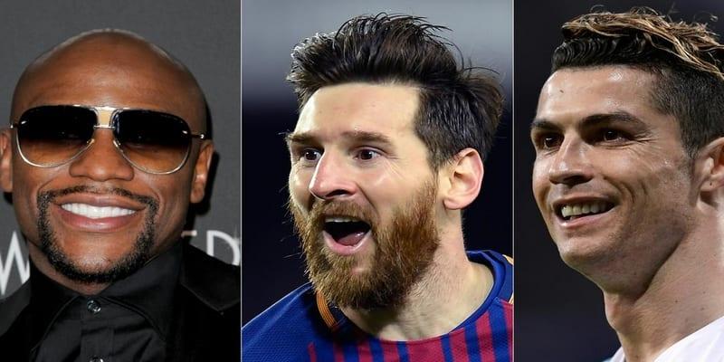 Photo de Classement des 5 sportifs les mieux payés en 2018 (Forbes)