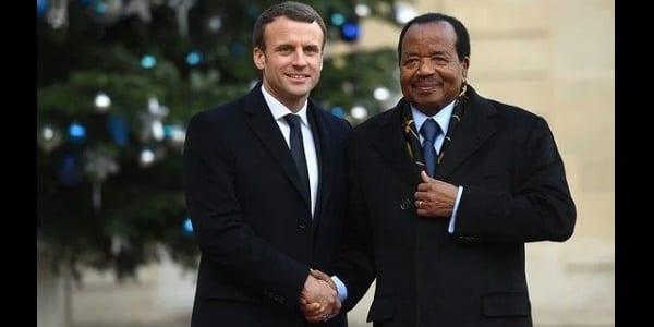 Photo de Cameroun: La présidence dit pourquoi elle a rendu publique la lettre privée de Macron à Biya