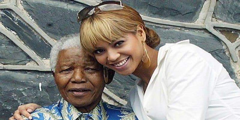 Photo de People: La lettre très émouvante de Beyoncé à Nelson Mandela