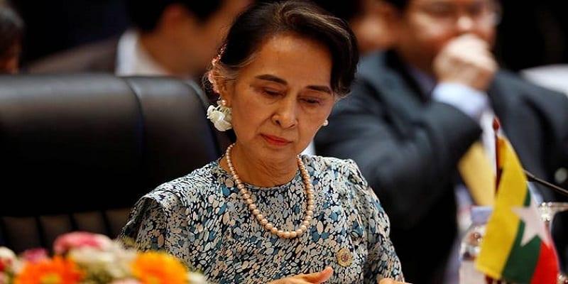 Photo de Birmanie : Aung San Suu Kyi déchue d'un prix International. La raison!