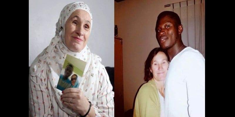 Photo de Elle abandonne ses 9 enfants, se convertit à l'islam, et épouse son amant gambien (photos)
