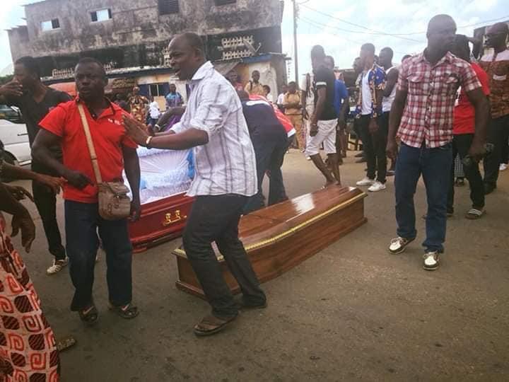 Photo de Côte d'Ivoire : tensions entre une famille endeuillée et la morgue IVOSEP! VIDEO
