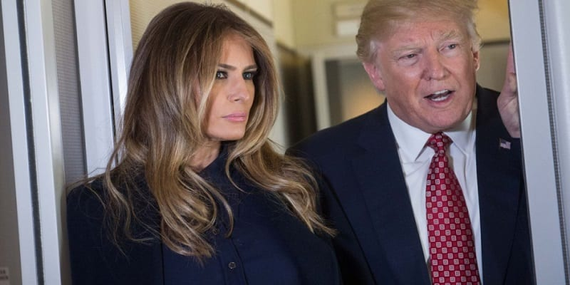 Donald et Melania