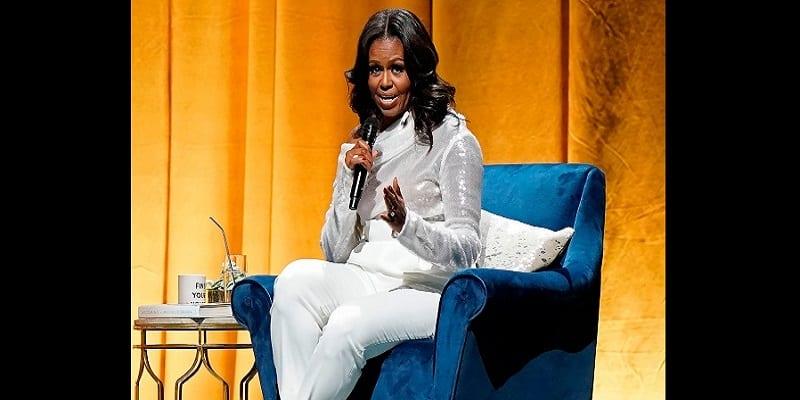 Photo de Michelle Obama: elle a pleuré pendant 30 minutes après son départ de la Maison Blanche