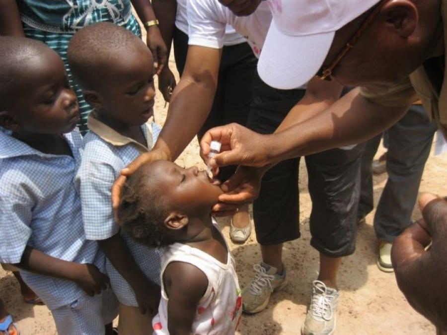 Photo de Santé : Un vaccin en poudre contre la poliomyélitique