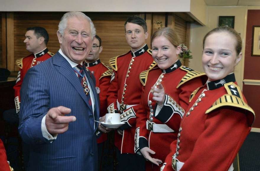 Photo de People : Le fils aîné de la reine d'Angleterre fête ses 70 ans!
