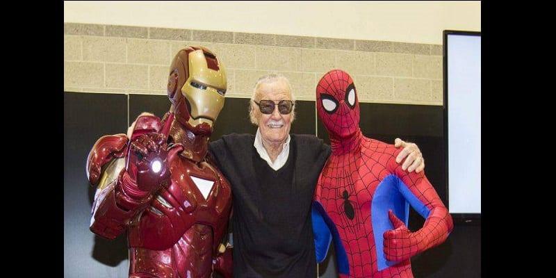 Photo de Stan Lee, le créateur des super-héros Marvel est décédé à l'âge de 95 ans (photos)