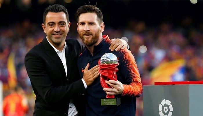 Photo de Football:  Xavi Hernandez fait une révélation sur l'état physique de Messi